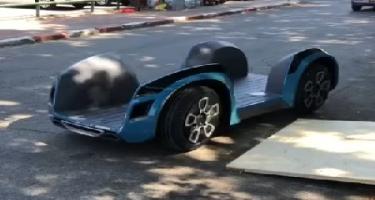 İsrail startapı elektromobillərin istehsalında yeni yanaşma təklif edib (VİDEO)