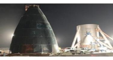 """""""Starship"""" raketinin prototipləri hazırlanır"""