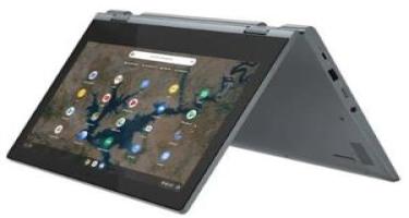 """""""Lenovo Chromebook Flex 3i"""" noutbukunun ekranı 360 dərəcə dönür"""