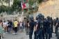 Nümayişçilər merin yaşadığı evə yaxınlaşmaq istədi, polis gözyaşardıcı qazdan istifadə etdi