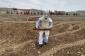 Füzulidə həyətyanı sahədə raket hissəsi tapıldı - FOTO