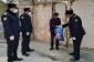 Xızı polisi yaşlı insanlara ərzaq yardımı edib - FOTO