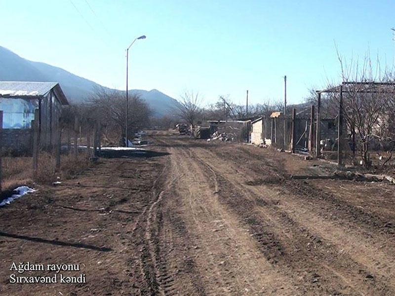 Ağdamın Sırxavənd kəndi - FOTO - VİDEO