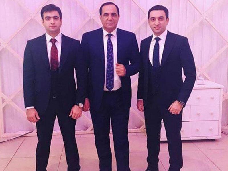 Manaf Ağayev oğlu ilə - FOTO