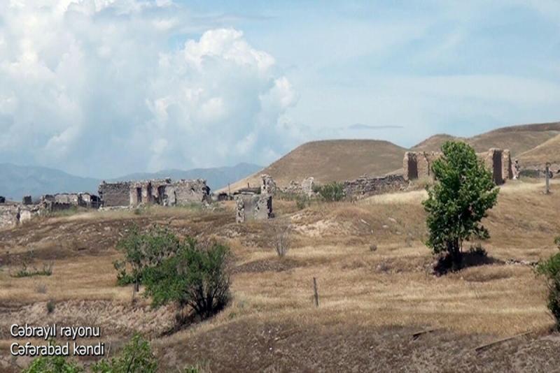 Cəbrayıl rayonunun Cəfərabad kəndi - VİDEO