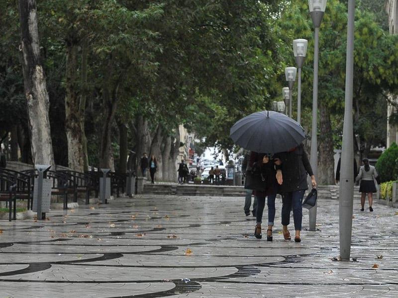 Şimal və qərb rayonlarında yağış yağıb - BÜGÜNKÜ HAVA