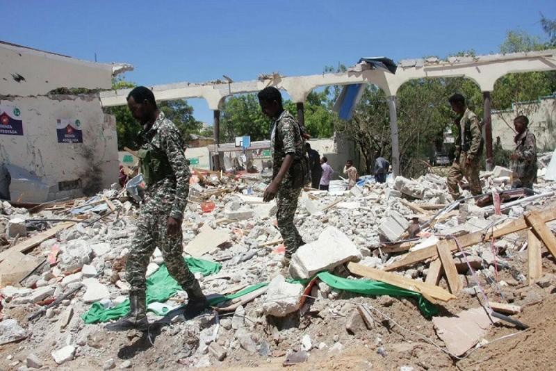 Moqadişoda terakt: 10 ölü