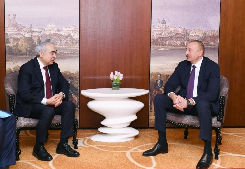 Prezident İlham Əliyev Beynəlxalq Enerji Agentliyinin icraçı direktoru ilə görüşüb - FOTO