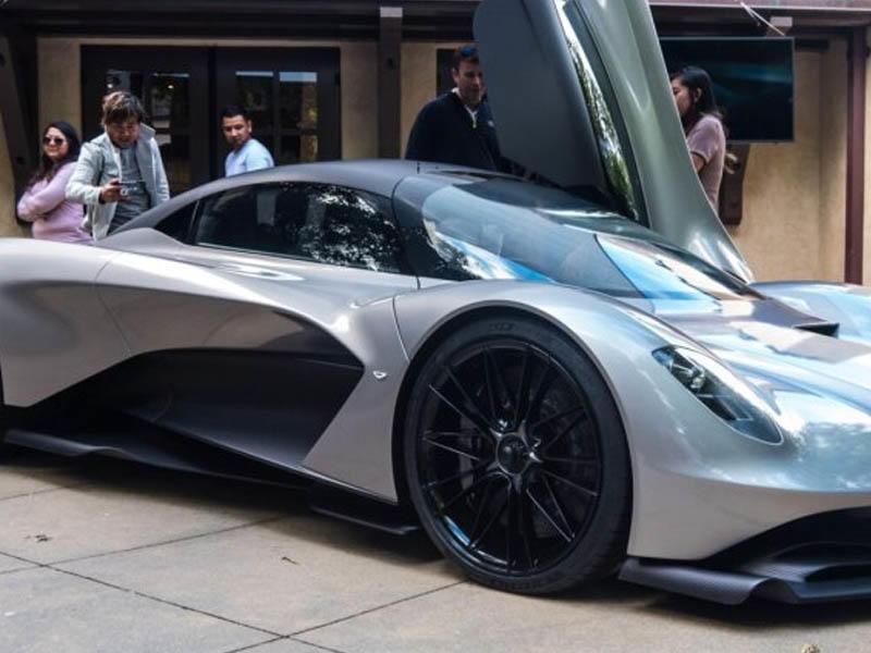 Ceyms Bondun yeni avtomobili: Aston Martin Valhalla