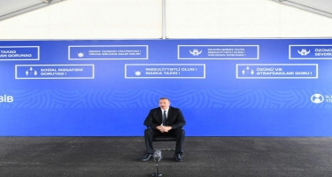 Prezident İlham Əliyev: Neftin qiymətinin düşməsini Azərbaycan vətəndaşları hiss etmədilər