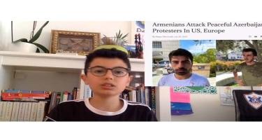 Azyaşlı azərbaycanlı blogerdən Ermənistanın faşist siyasətinə ETİRAZ