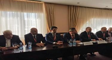 Azərbaycan nümayəndə heyəti Belarusda prezident seçkilərini müşahidə edir - FOTO