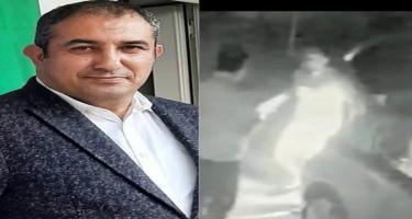 Bakıda taksi sürücüsü baş redaktoru baltalamaq istədi — ANBAAN VİDEO