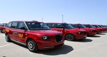 Ölkəyə gətirilən yeni taksilərdən 10-u artıq istifadəyə verilib - FOTO