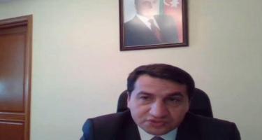 Hikmət Hacıyev 96 QHT-nin rəhbəri ilə görüş keçirib - FOTO