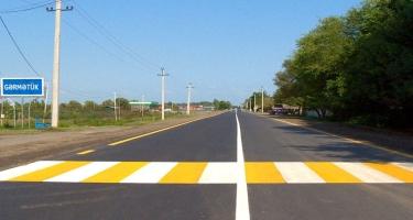 38 km yol yenidən qurulub - FOTO