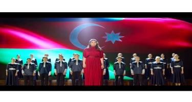 """Gənclər """"Ya Qarabağ, ya Ölüm"""" oxudular! -  VİDEO"""
