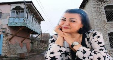 """""""Şuşadakı məhləmizi darmadağın ediblər"""" - Firəngiz Mütəllimova"""
