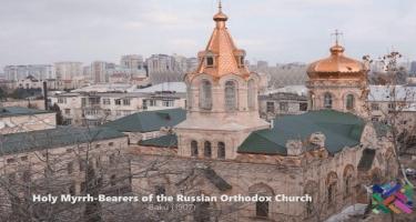 Zeynalabdin Tağıyevin maddi yardımı ilə inşa edilən Müqəddəs Jen-Mironosits pravoslav kilsəsi - VİDEO