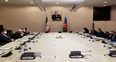 Ceyhun Bayramov İranın xarici işlər naziri ilə görüşüb - YENİLƏNİB - VİDEO - FOTO