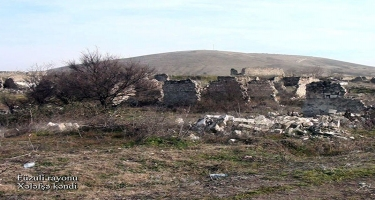 Füzulinin Xələfşə kəndi - VİDEO - FOTO