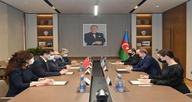 Ceyhun Bayramov Birol Akgün ilə görüşüb - FOTO