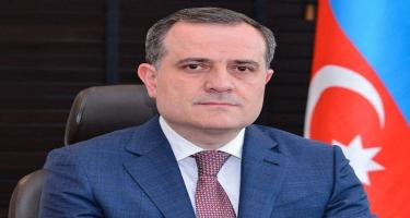 Ceyhun Bayramov Türkiyəyə başsağlığı verdi