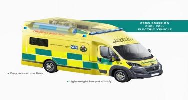 Britaniyada hidrogen təcili yardım maşını hazırlanır