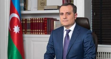 """Ceyhun Bayramov: """"Türkiyənin regionda dayanıqlı sülhün təmin edilməsində rolu böyükdür"""""""