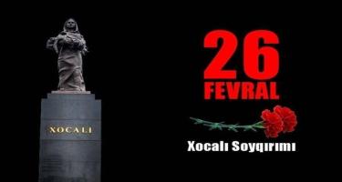 XX əsrin faciəsi: Xocalı soyqırımından 29 il ötür