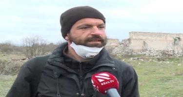 Xarici jurnalistlər Ağdamda - VİDEO