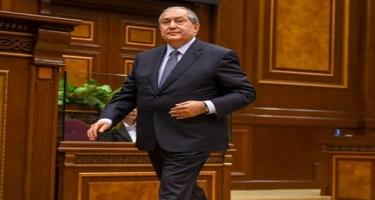 Ermənistan prezidenti siyasi qüvvələrə çağırış etdi