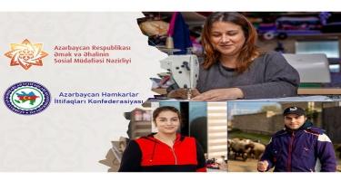 Özünüməşğulluğun təşkilinə Həmkarlar İttifaqları Konfederasiyası 200 min manat vəsait ayıracaq
