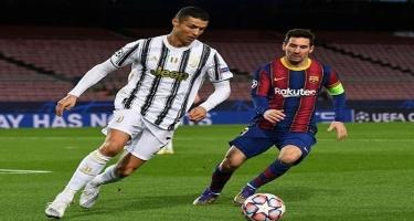 Messi və Ronaldu birinci sırada