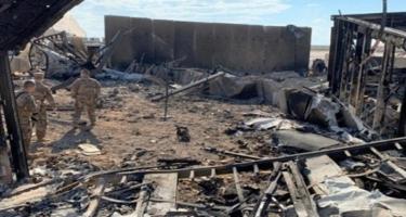 Hərbi baza raket atəşinə tutuldu, ABŞ hərbçisi qorxudan öldü