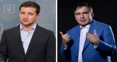 Zelenski Saakaşvilini vəzifədən azad etdi