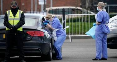 Britaniyada daha 5587 nəfərdə koronavirus aşkarlanıb