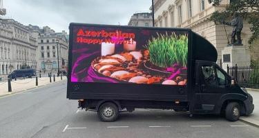 Britaniyada azərbaycanlılar Novruz bayramı ilə bağlı kampaniya başladıblar - FOTO