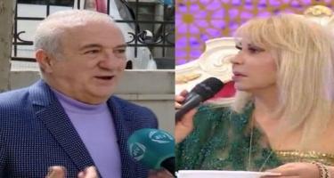 Xalq artistindən həmkarına - ağzı nədir mənlə duet oxumasın