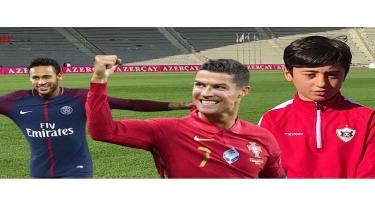 Ronaldu, Neymar və Salahı Qarabağa çağırdılar - VİDEO