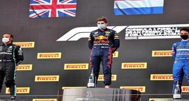 Ferstappen Formula 1-də birinci oldu