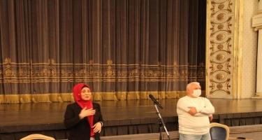 """""""İnklüziv teatr"""" layihəsinin iştirakçıları ilə ilk görüş keçirildi - FOTO"""