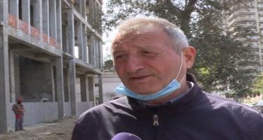 Bakıda tikinti şirkəti vətəndaşların həyatı üçün təhlükə yaradır - VİDEO