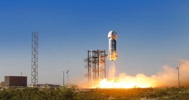New Shepard-ın son uçuş testi keçirildi