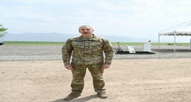 Prezident İlham Əliyev: Bu il Füzuli hava limanının uçuş-enmə zolağı istismara veriləcəkdir