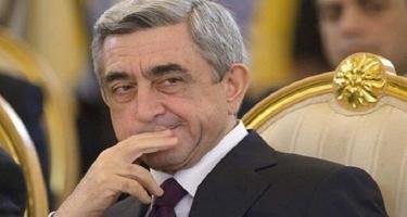 Sarqsyan Ermənistanın indiki hakimiyyətini təhqir etdi
