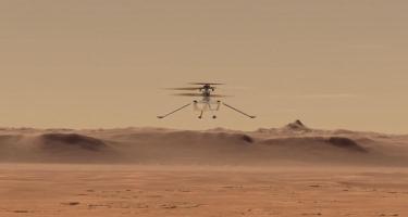 Ingenuity üçüncü uçuş missiyasını uğurla bitirdi  -VIDEO