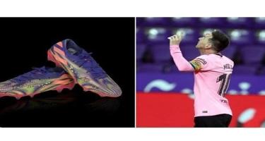 Messi Pelenin rekordunu qırarkən geydiyi butsları satıb