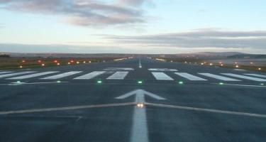 Prezident İlham Əliyev Naxçıvan Beynəlxalq Hava Limanının yeni uçuş-enmə zolağının təqdimatında iştirak edib