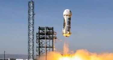 Blue Origin şirkəti ilk turistik uçuşun tarixini elan edib